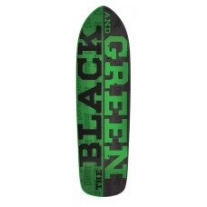 8.5in x 32.25in Black and Green Team
