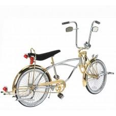"20"" Lowrider Bike Chrome-Gold 534-3"