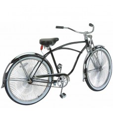"26"" Beach Cruisers Bike 575-1 (Available In Black Or Chrome)"