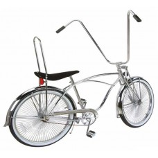 "26"" Beach Cruisers Bike 589-1 (Available In Black Or Chrome)"