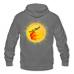 Loyalty Boards' Unisex Fleece Zip Hoodie With Logo On Back