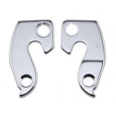 Alloy Rear Derailleur Hangers A-HG023 Silver