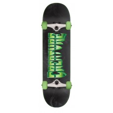 8.25in x 31.8in Chrome LG Creature Skateboard Complete