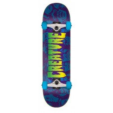 7.5in x 30.6in Faces SM Creature Skateboard Complete