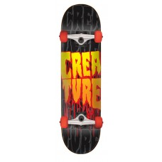 8.0in x 31.6in Stacks LG Creature Skateboard Complete