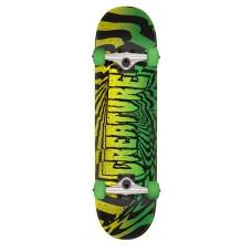 7.75in x 31.4in Vertigo LG Creature Skateboard Complete