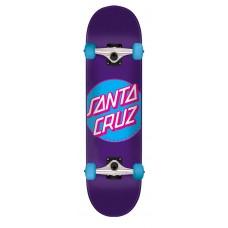 7.8in x 31.7in Classic Dot Santa Cruz Skateboard Complete