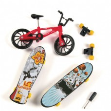 Trick Bike And Skateboards (6 Sets)